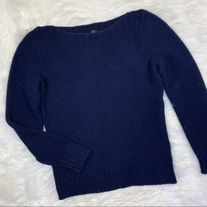 3 FOR $15! Talbots Petite Navy Sweater